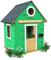 how to build an outdoor loft playhouse free step by step plan