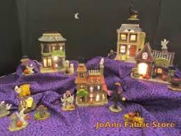susan winget halloween houses at joann store youtube