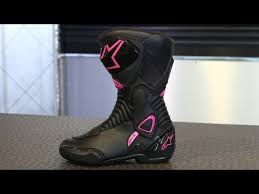 s boots pink alpinestars stella s mx 6 boots motorcycle superstore