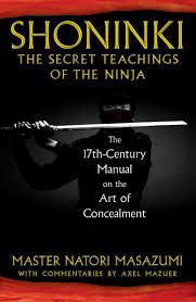 shoninki the secret teachings of the ninja the 17th century