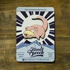 Slowpoke Meme - slowpoke meme wooden brooch by woodbrooch brooches pinterest