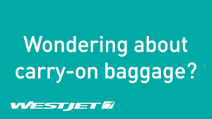 United Baggage Weight Limit Wondering About Carry On Baggage Westjet Youtube