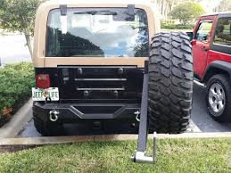 jeep yj rear bumper e autogrilles jeep wrangler tj yj off road rear bumper with tire