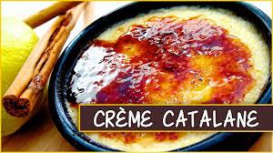 cuisine catalane recettes recette de la crème catalane