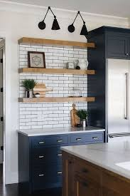white kitchen cabinets with blue subway tile 1001 ideas for a modern farmhouse kitchen decor