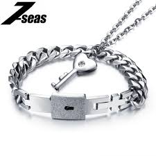 s day bracelet aliexpress buy jewelry lock key design men