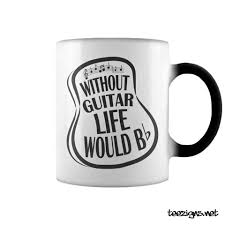 mug design without guitar life would b flat mug acoustic guitar design