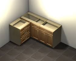 how big is a corner base cabinet 1 door 1 drawer blind corner base cabinet left side hinged