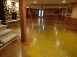 flooring cost of stained concrete flooring acid floors