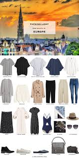 packing light for europe what to pack for a month in europe in summer livelovesara