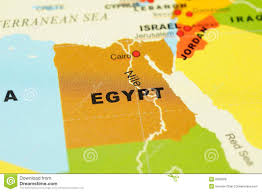 Map Of Egypt And Africa by Map Of Egypt Royalty Free Stock Image Image 31363046