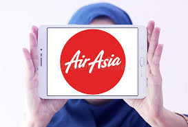airasia logo airasia airlines logo editorial image image of brand 97859995