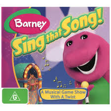 barney sing that song dvd big w