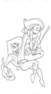 kim coloring pages