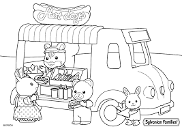 billedresultat for sylvanian families coloring pages sylvanian