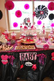 baby shower candy buffet ideas fashionable pink u0026 ze birthday