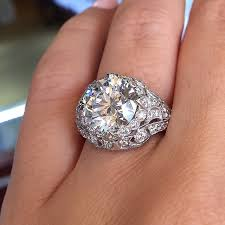 3 carat ring pictures of 3 carat diamond ring setting top 10 vintage style