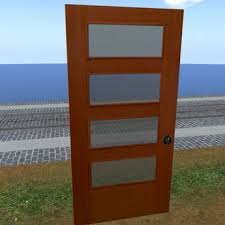 Interior Door Frosted Glass by Second Life Marketplace Scripted Cherry And Frosted Glass