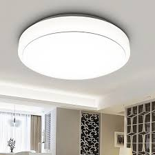 Living Room Ceiling Light Fixture by 18w Round Led Ceiling Light 3000 Lumens Flush Mount Fixture For