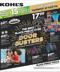 amazon black friday flyer kohl u0027s black friday ad