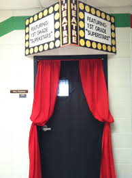 Christmas Office Door Decorating Themes by Hollywood Themed Classroom Door Things I U0027ve Made Pinterest