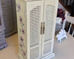 Shabby Chic Jewelry Armoire by Ascp Etsy