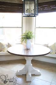 sullivan round dining table ana white y truss round table diy projects intended for diy round