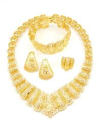 gold plated necklace wholesale images Online wholesale fashion jewelry cz jewelry gold plated jewelry jpg