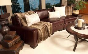Top Grain Leather Sectional Sofa Elements Fine Home Furnishings Loft Top Grain Leather Sectional