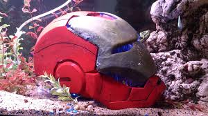 ironman fish tank helmet