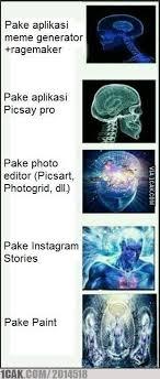 Cara Membuat Meme - tingkatan manusia berdasarkan cara mereka membuat meme 1cak for