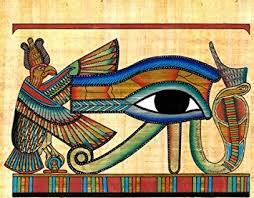 amazon com eye of horus papyrus home decor