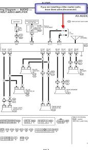 nissan xterra radio wiring diagram nissan schematics and wiring