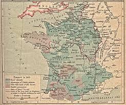 Map Southern France by Reisenett Historical Maps Of Europe
