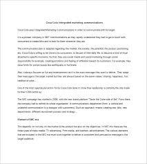 integrated marketing communication plan template u2013 10 free word