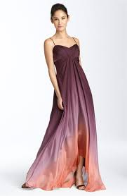 collections ombré chiffon gown nordstrom
