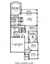 texas house plans vanburen narrow floor plans texas house plans
