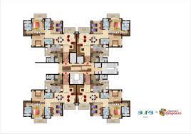 mahindra aura sector 110 a gurgaon overview floor plan