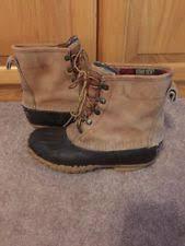 womens ll bean boots size 9 ll bean duck boots womens ebay