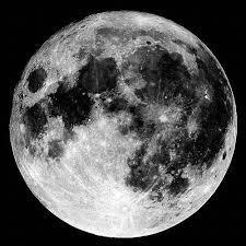 beautiful black and white moon image 498583 on favim com
