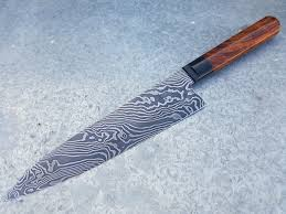damascus kitchen knives wilburn forge 8 75 twisted damascus chefs knife rodriguez butcher
