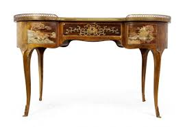 antique style writing desk stylish french writing desk for antique chinoiserie kidney 1860s in