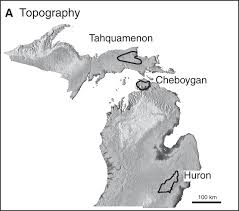 Map Of The Upper Peninsula Of Michigan The Carbonate System Geochemistry Of Shallow Groundwater U2013surface