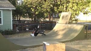 frontyard bmx miniramp session youtube