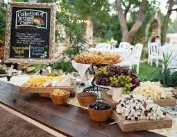 buffet mariage 10 new wedding food trends for 2014 cheese platters