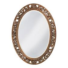 shop tyler dillon suzanne antique bronze beveled oval wall mirror