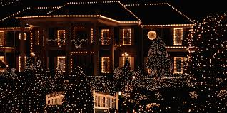 white lights 20 outdoor christmas light decoration ideas outside christmas