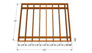 shed floor plans free floor frame plans for the home pinterest floor framing wooden