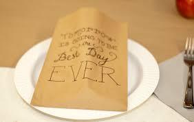 rehearsal dinner favors rehearsal dinner favor ideas wedding tips and inspiration