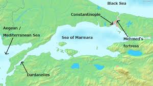 Present Day Ottoman Empire The 1453 Siege Of Constantinople Aleksander